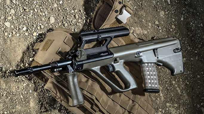 Steyr Arms AUG/A3 M1 Bullpup TW August 2015 lead