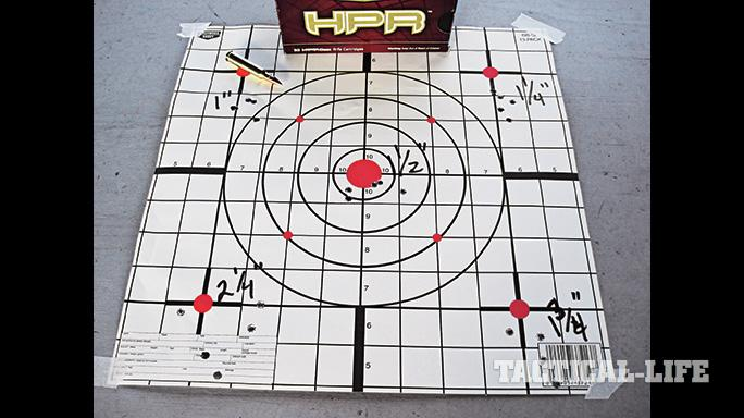 Black Dawn Bravo Rifle SWMP 2012 target