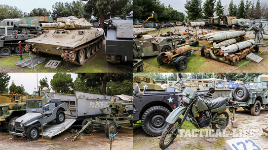American Military Museum lead Ballistic Summer 2015