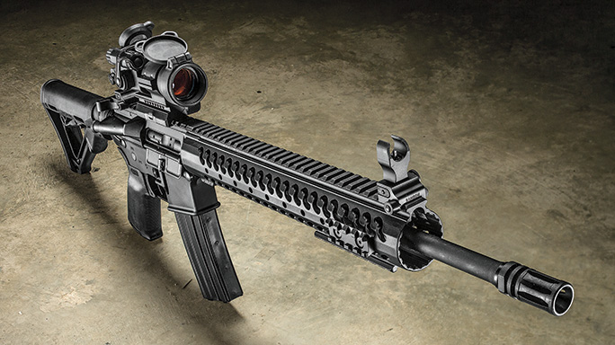 Del-Ton Evolution Rifle CBG 2016 lead