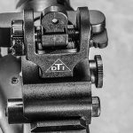 Del-Ton Evolution Rifle CBG 2016 rear sights