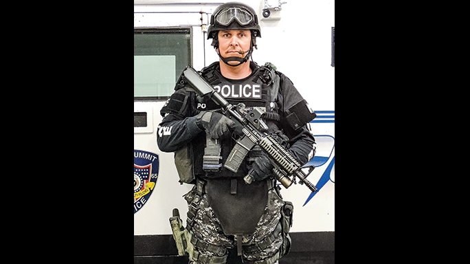 Sergeant Aaron Evans Lee's Summit Police Department SWAT
