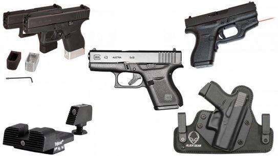 Glock 43 G43 accessories 2015