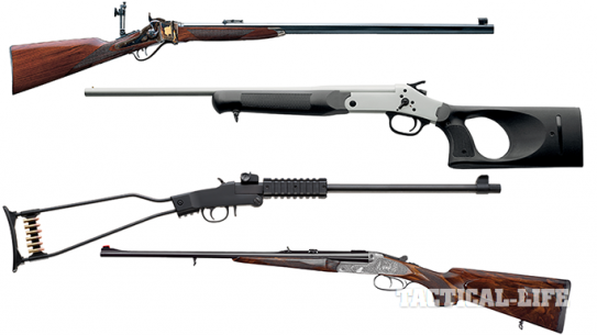 Top 18 Single-Shots, Other Rifles & Shotguns From Gun Buyer's Guide 2015