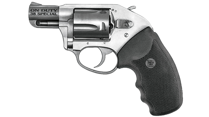 GWLE August 2015 CHARTER UNDERCOVER LITE ON DUTY snub-nose revolver