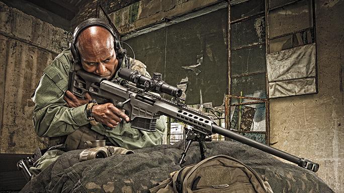 Barrett 98B Tactical Rifle GWLE June 2015 lead