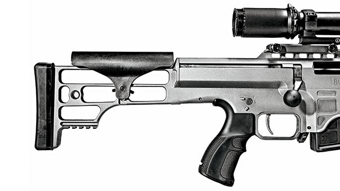 Barrett 98B Tactical Rifle GWLE June 2015 stock