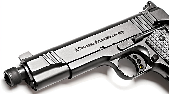 Remington AAC 1911 left