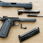 Rock Island Armory TAC Ultra 10mm 1911 Pistol apart