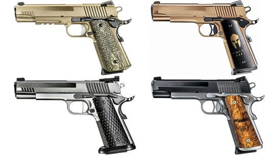 12 Sig Sauer 1911 Pistols For EDC, Competition