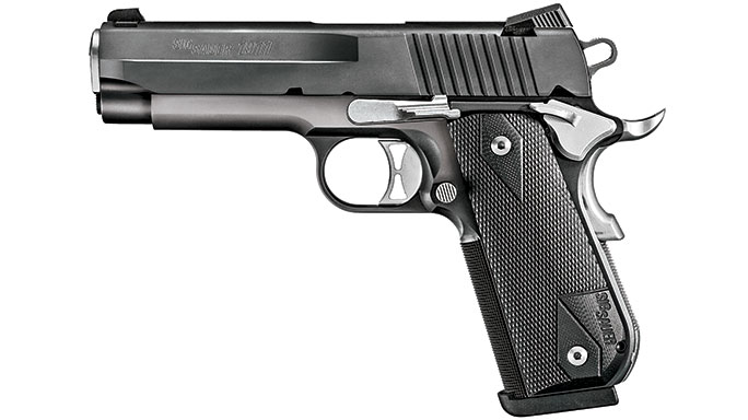 2015 SIG SAUER 1911 FASTBACK CARRY NIGHTMARE