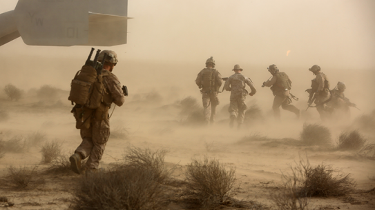 SPMAGTF Marines TRAP Training Exercise