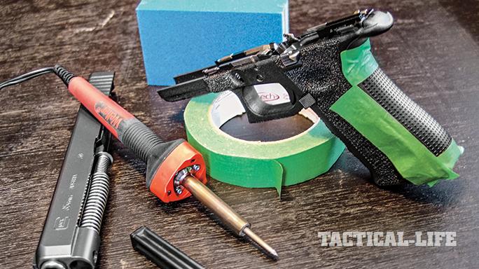 DIY Workshop: Stippling For a Better Grip on Your Pistol
