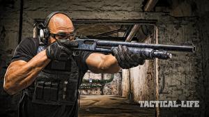 SWJA 2015 Mossberg 590A1 shotgun lead