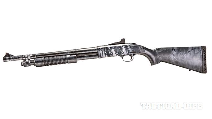 SWJA 2015 Mossberg 590A1 shotgun left