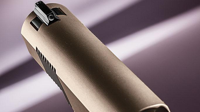 Cylinder & Slide Trident II 1911 front sight