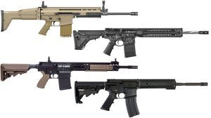 24 of the Best 7.62mm, .458 SOCOM and 300 BLK Rifles