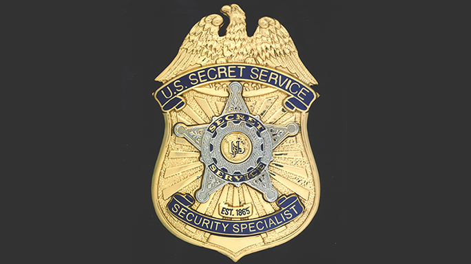 US Secret Service 150th Anniversary badge