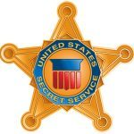 US Secret Service 150th Anniversary star logo