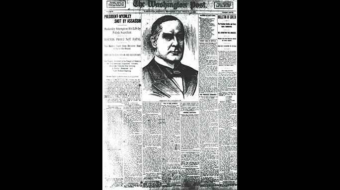US Secret Service 150th Anniversary President McKinley