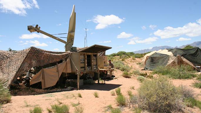 U.S. Army Wireless Command Post