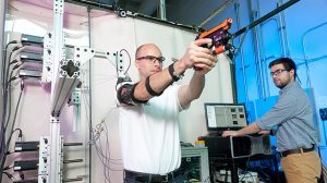 U.S. Army Mechatronic Arm Exoskeleton