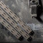 Bravo Company Manufacturing KeyMod Rail Panels wolf grey