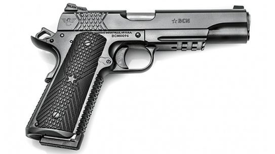 Wilson Combat BCMGUNFIGHTER 1911 Tactical Weapons August 2015