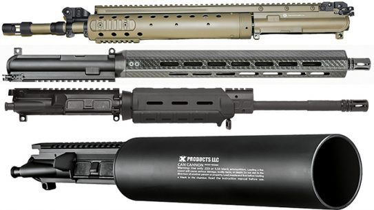 18 Extreme AR Uppers Black Guns 2016