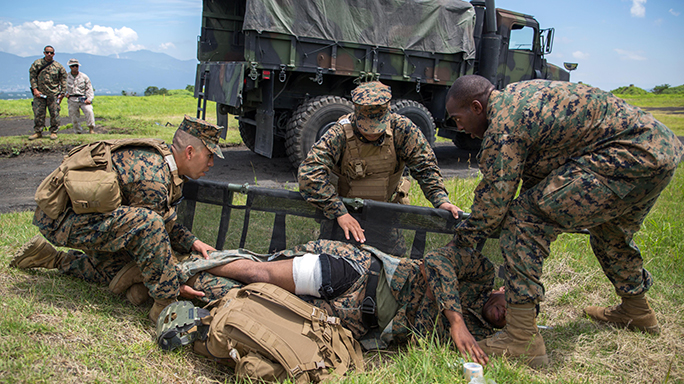 Exercise Dragon Fire 2015 Marine Corpsmen