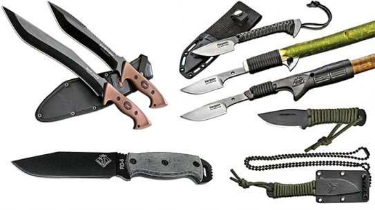 6 Fixed Blades Ready For Combat