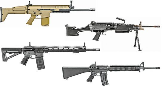 8 Battle-Proven AR Rifles FN America