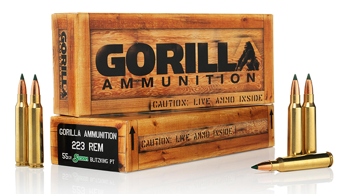 Gorilla Ammunition 223 Remington Sierra BlitzKing