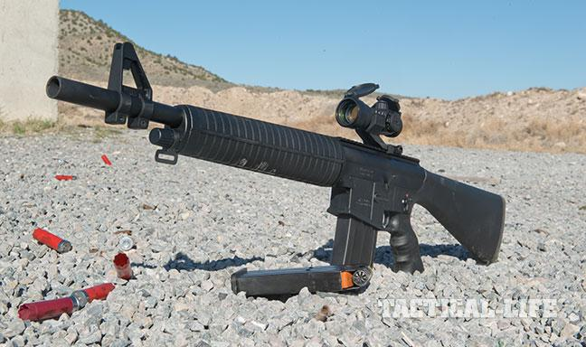 EAA MKA 1919 Match shotgun GWLE August 2015 left
