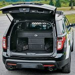 Ford Interceptors Police trunk