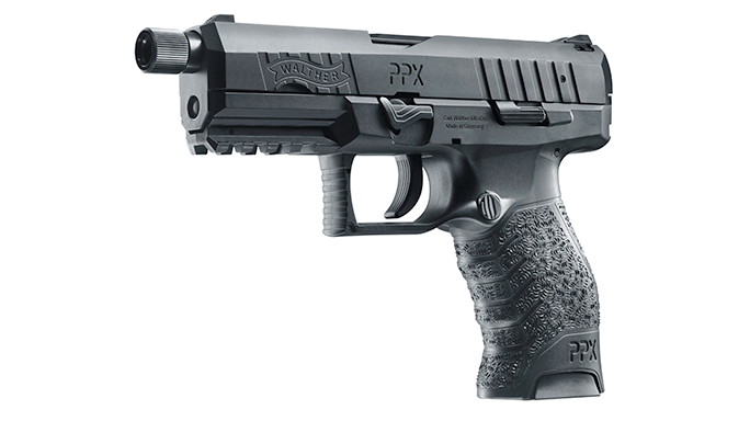 Walther PPX SD 9mm handgun GWLE left