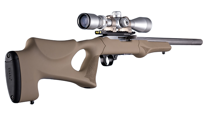 Hogue Tactical Thumbhole Rifle Stock tan