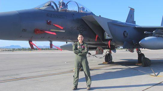 Capt. Kari Armstrong U.S. Air Force Weapons School