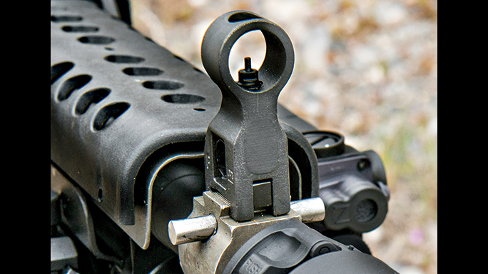 Machine Gun Armory SAW K SWMP August front sight