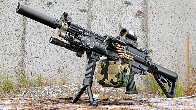 Machine Gun Armory SAW K SWMP August lead