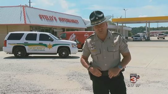 St. Landry Sheriff Lieutenant Viral Video