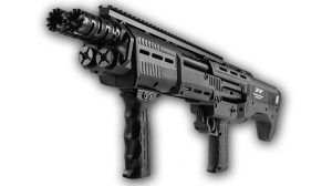 Standard Manufacturing DP-12 Bullpup shotgun SWMP August lead