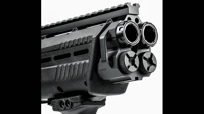 Standard Manufacturing DP-12 Bullpup shotgun SWMP August rail
