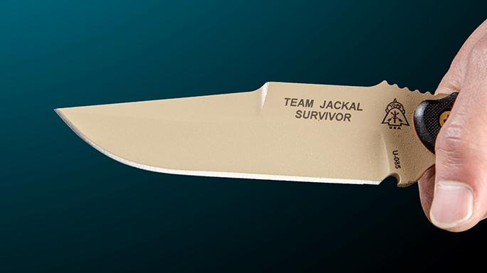 TOPS Knives Team Jackal Survivor blade