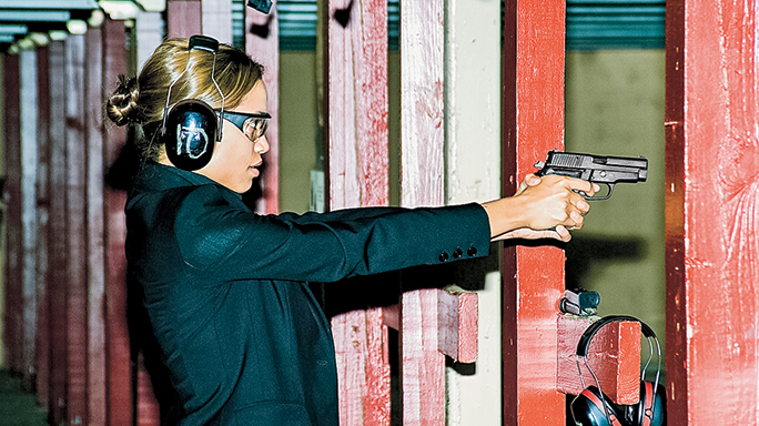 Sig Sauer M11-A1 Tactical Weapons Rosario Dawson