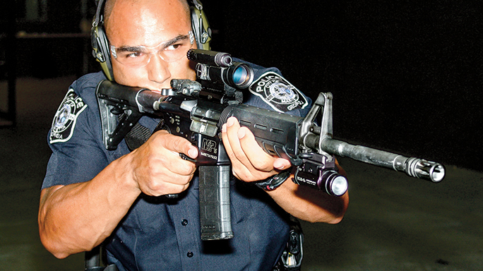 Marietta Police Department Tactical Weapons August 2015 M&P15