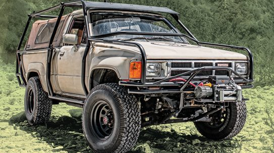 Mike Penhall Toyota 1986 4Runner lead