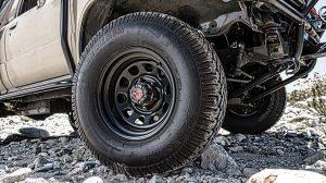 Mike Penhall Toyota 1986 4Runner tire