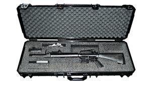 Quick Fire Cases QF640 AR-15 Case ballistic fall 2015