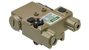 Black Guns 2016 NCStar Green Laser & 4 Color NAV LED